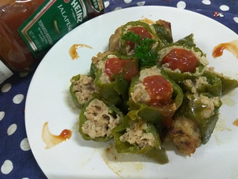 十分鐘上菜─青椒鑲肉