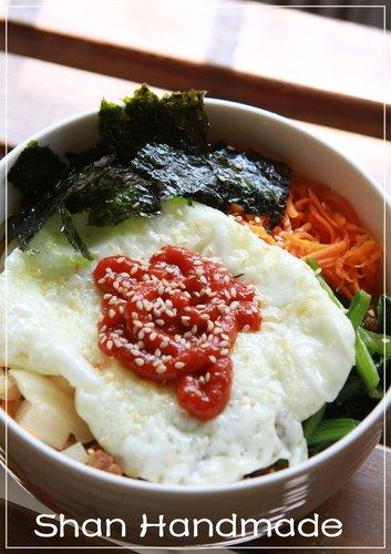 [韓式] 韓式拌飯 비빔밥