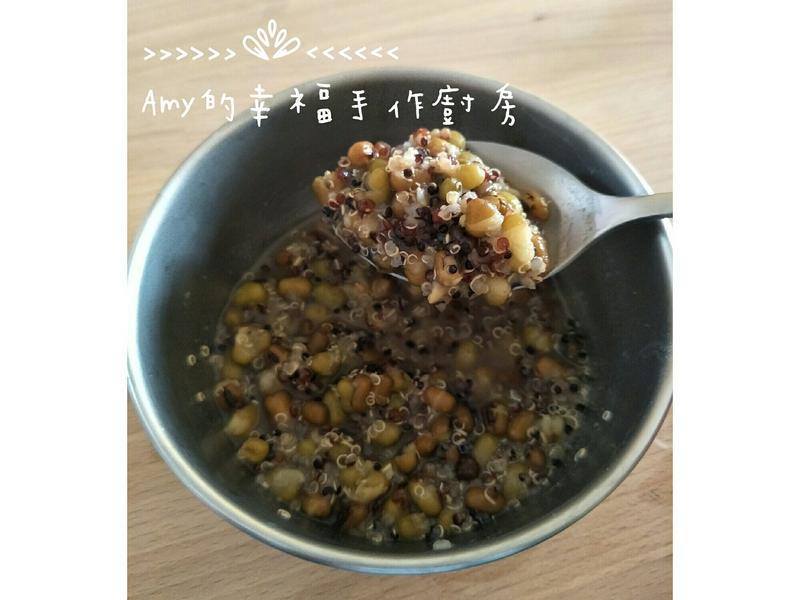 藜麥綠豆湯