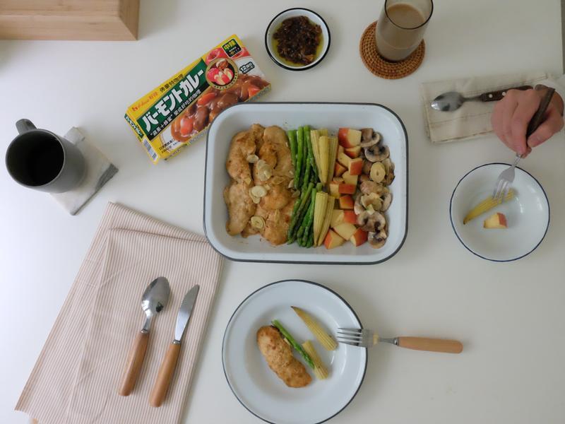 年菜預備備 - 咖哩優格雞肉沙拉