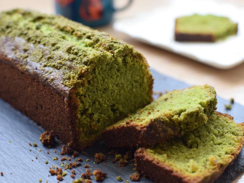 抹茶柚子奶酥磅蛋糕