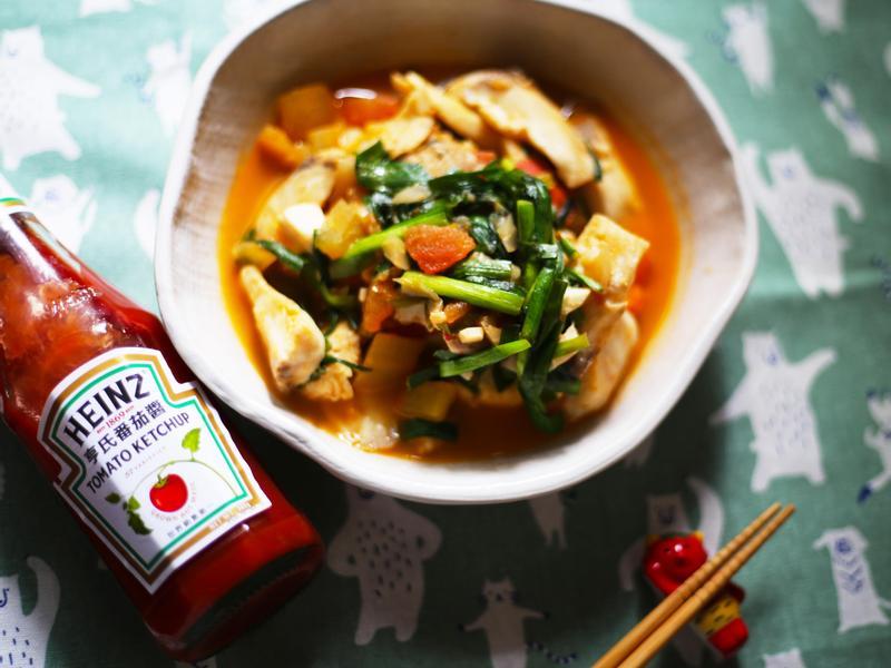 [年菜系列]酸菜番茄辣豆瓣燉魚