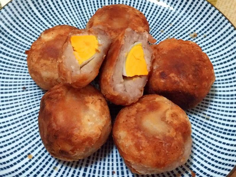 芋頭蛋黃餅