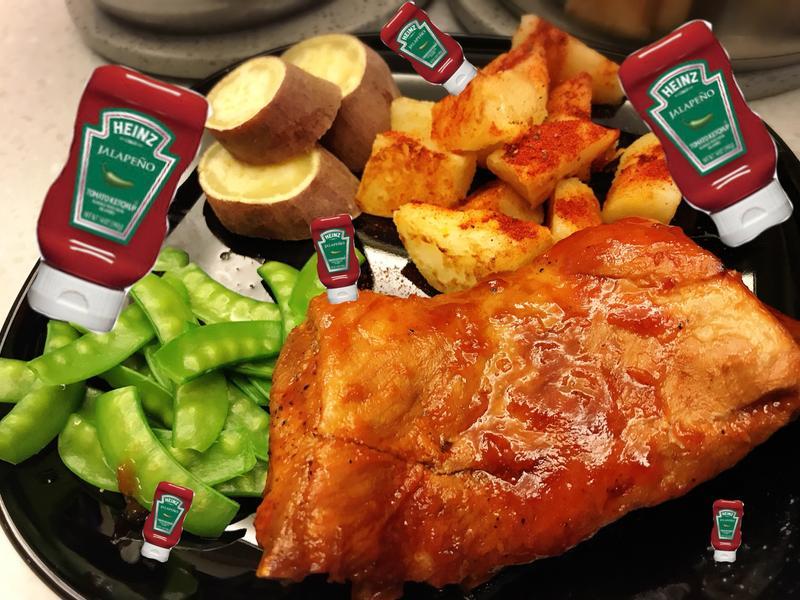 亨氏番茄醬烤豬肋排