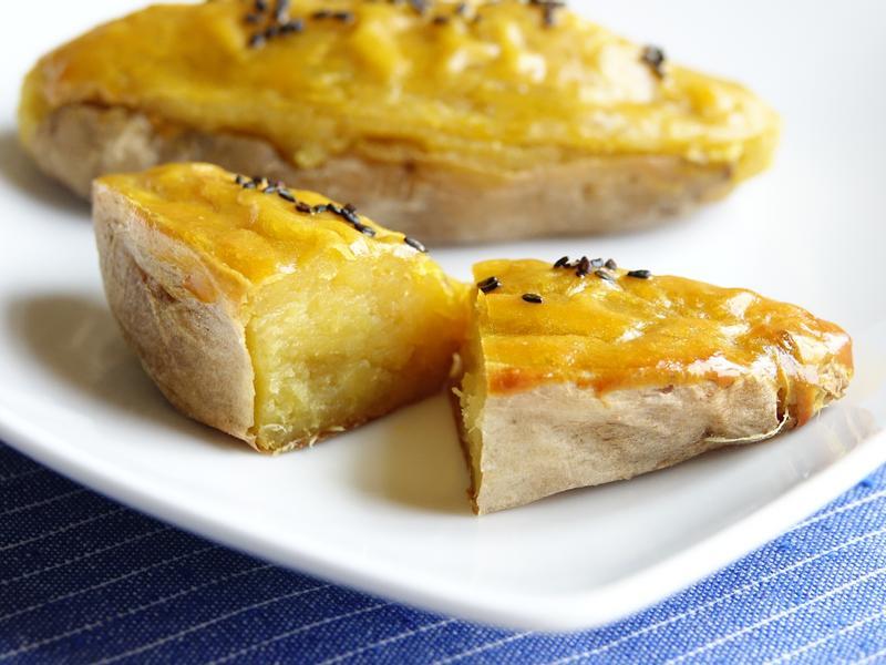 蜂蜜奶油地瓜燒~簡易地瓜點心