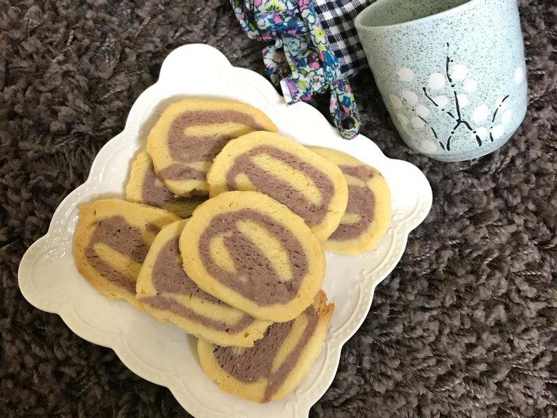 紫薯🍠双色酥饼