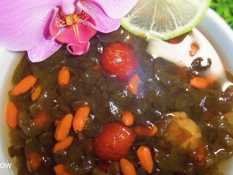 枸杞雨來菇🌼養身健康飲!滿滿藻膠質!
