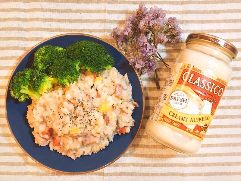 奶油彩蔬雞肉燉飯