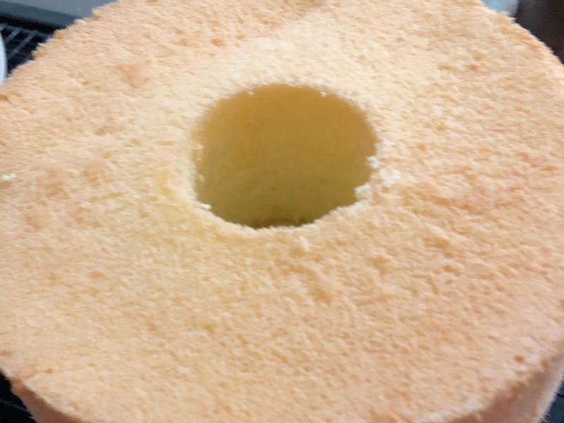 杏香戚風蛋糕(燙麵法)