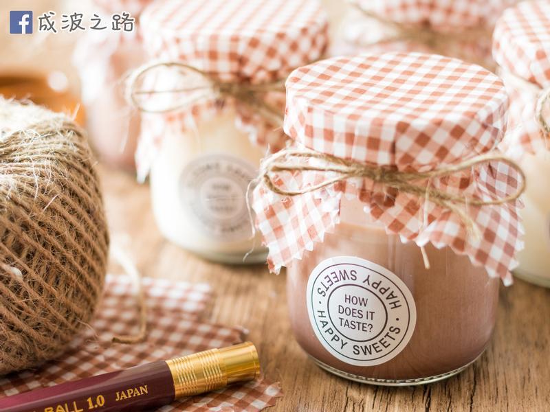 【影片】原味或巧克力口味3.6牛奶布丁