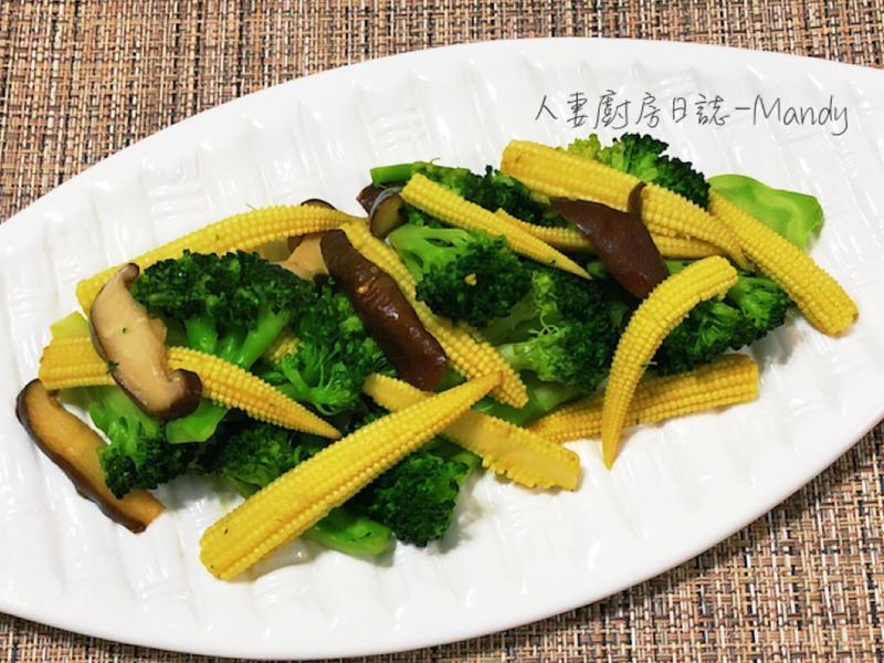 香筍炒西蘭花【年菜】