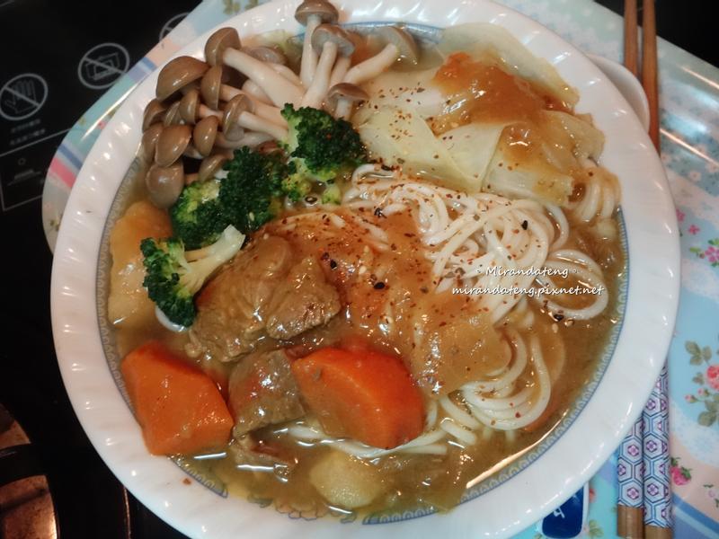 牛肉湯咖哩(麵)【佛蒙特咖哩】