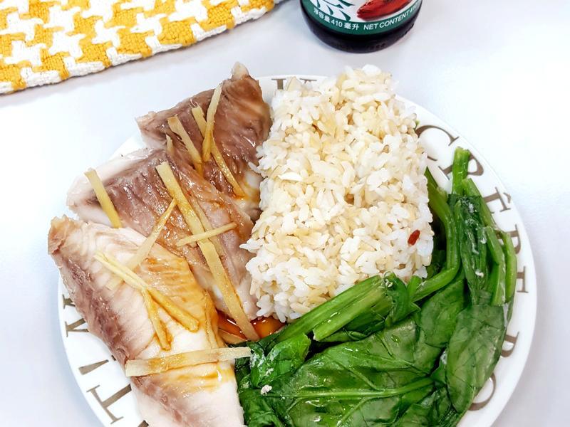 冬日暖暖減脂健康午餐【李錦記蒸魚醬油】