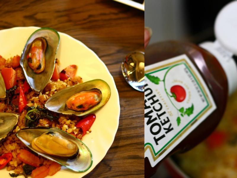 地中海番紅花炒飯|海鮮料理
