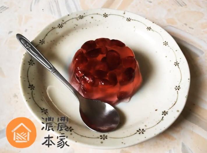 3個步驟就能做出蔓越莓果凍!