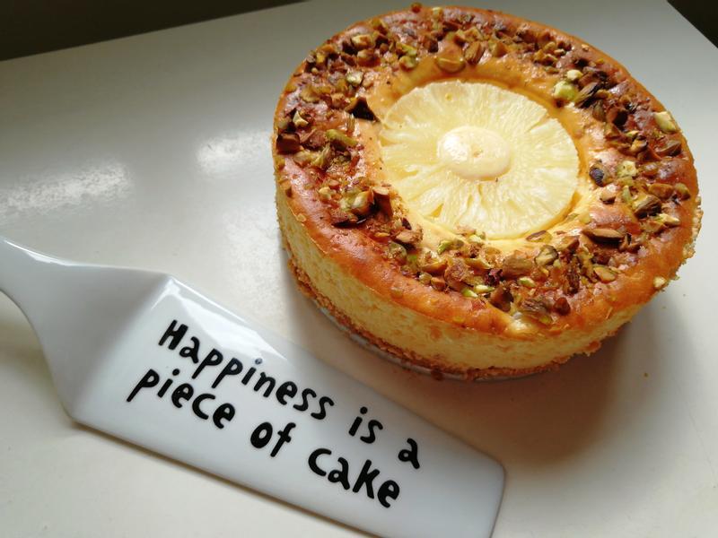 菠蘿(鳳梨)芝士蛋糕