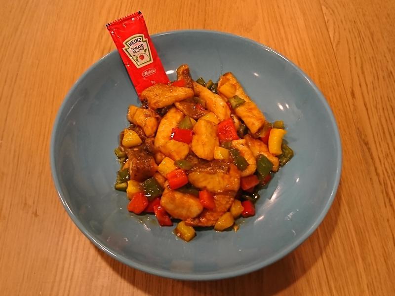 開心過年:茄汁彩椒魚片