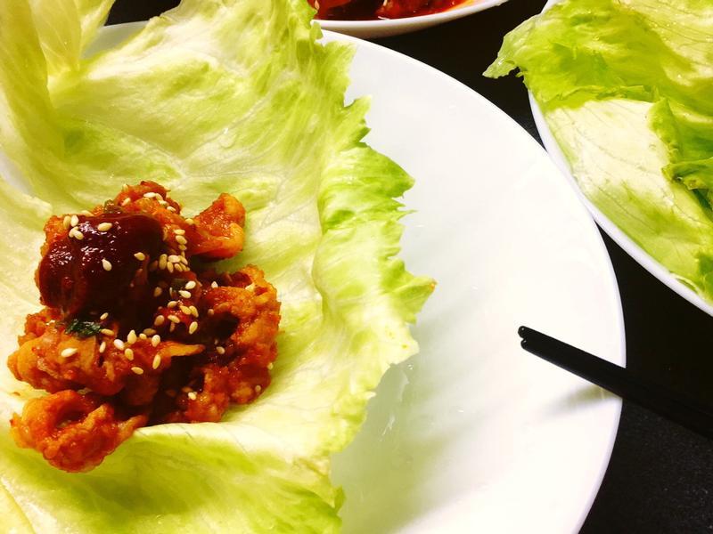 韓式生菜包肉