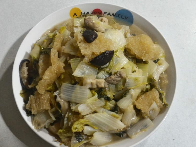 台式白菜魯