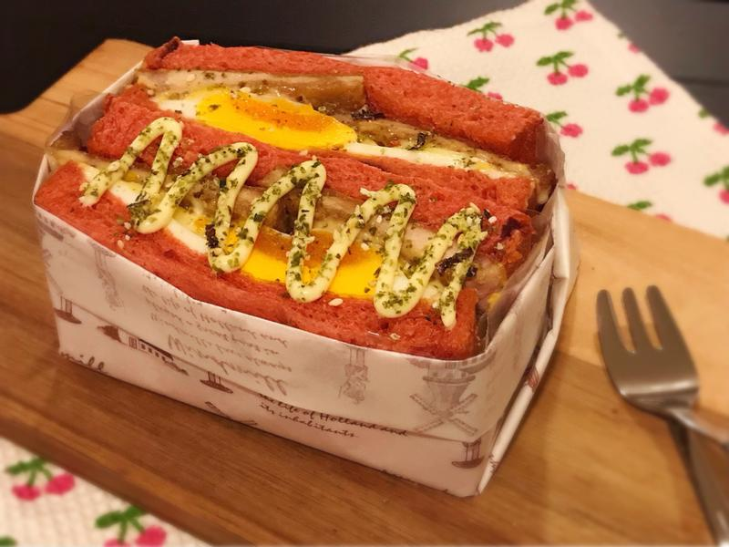 超人氣肉排蛋吐司(免炸、肉排配方)