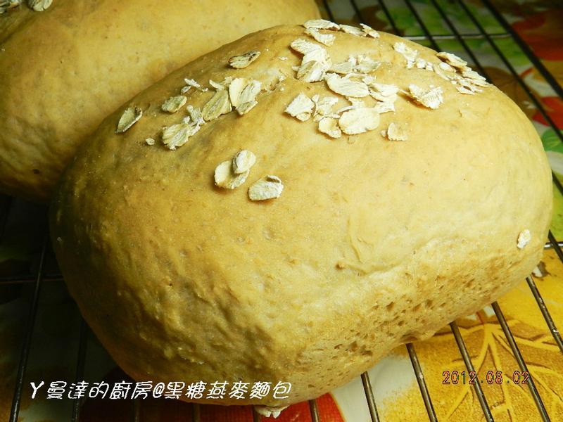 ㄚ曼達的廚房~黑糖燕麥麵包
