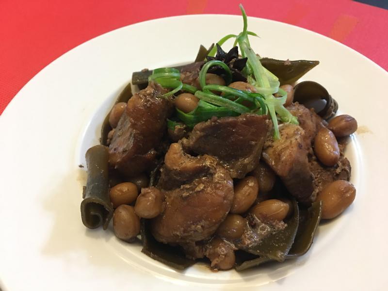 花生豬肉昆布煮物