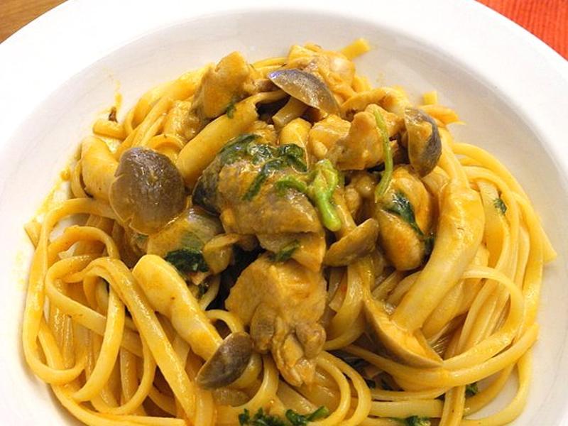 泰式菇菇義大利麵