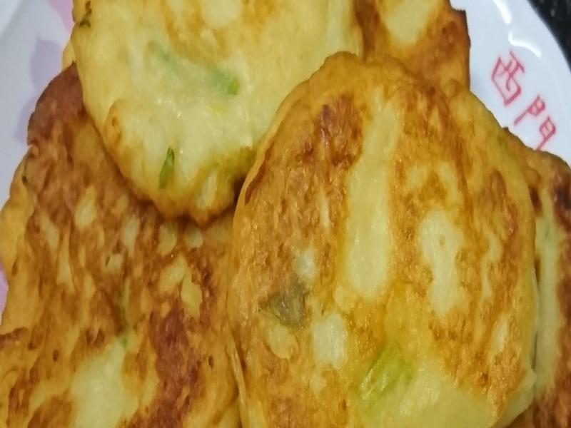 馬鈴薯蔬菜煎餅
