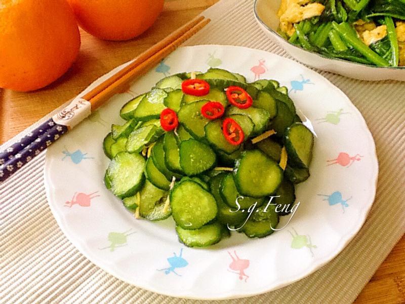 涼拌小黃瓜(素)