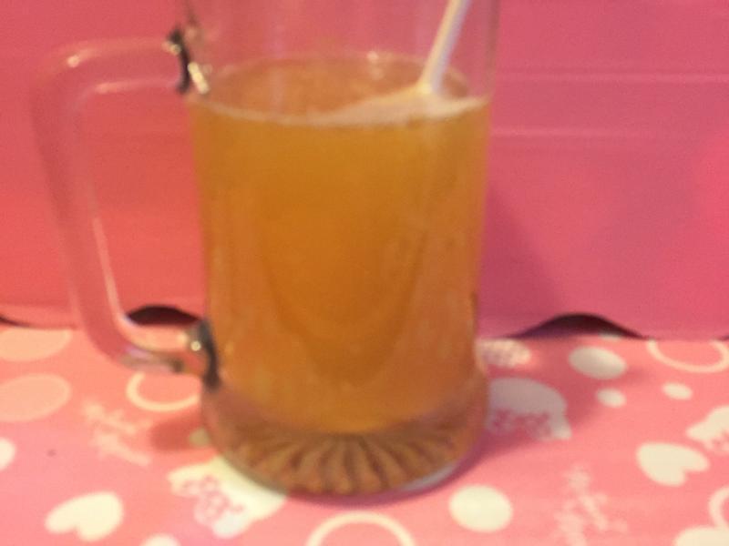 簡易調酒☆伏特加+蘋果西打+檸檬汁