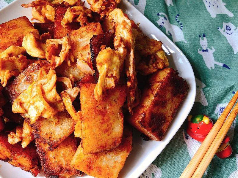 平民美食又一發~醬燒蘿蔔糕