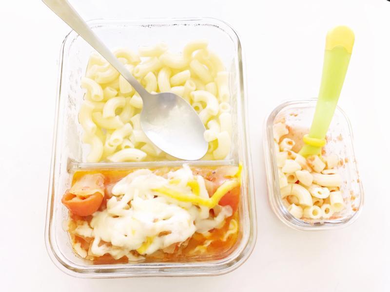 7M寶寶食譜>蕃茄通心麵