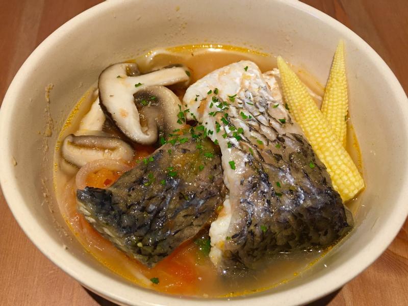 【寶寶食譜】蕃茄鮮魚湯麵