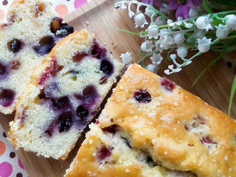 莓莓優格磅蛋糕