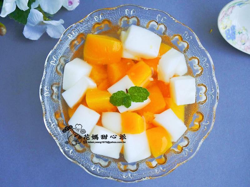 蜜桃杏仁甜湯