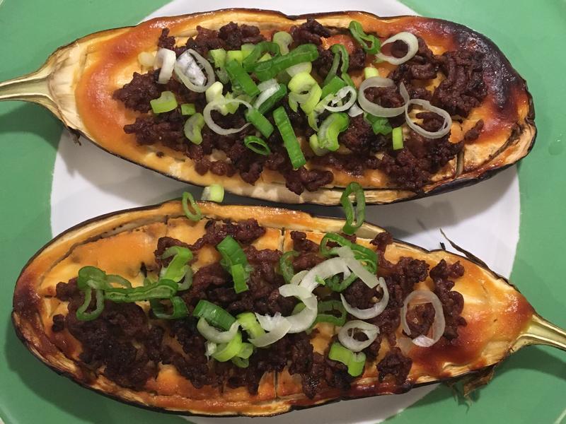茄子牛肉田樂燒