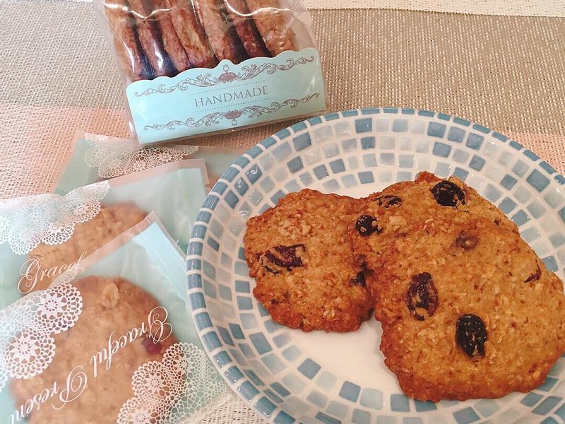 黑糖燕麥水果餅乾