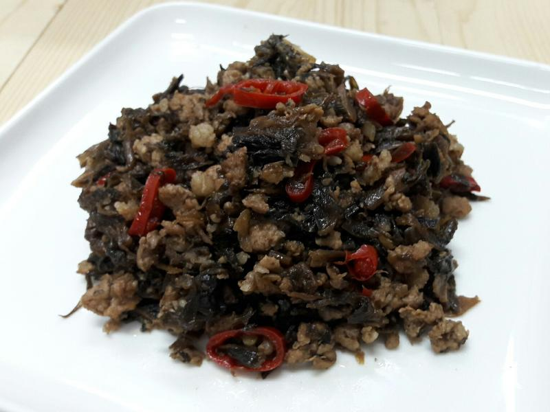 福菜炒肉末 超下飯家常料理 不敗便當菜