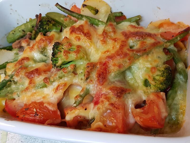 costco冷凍蔬菜「奶油焗烤蔬菜」