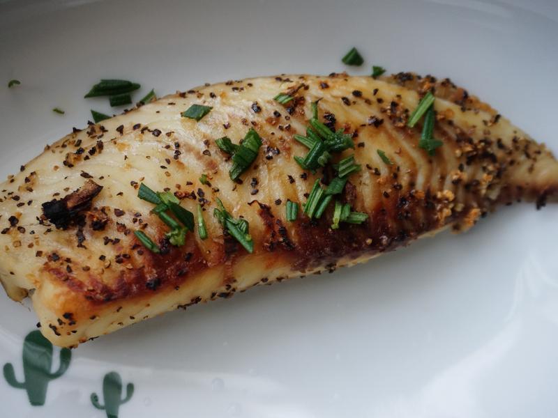 鹽燒鯛魚🐟(水波爐)
