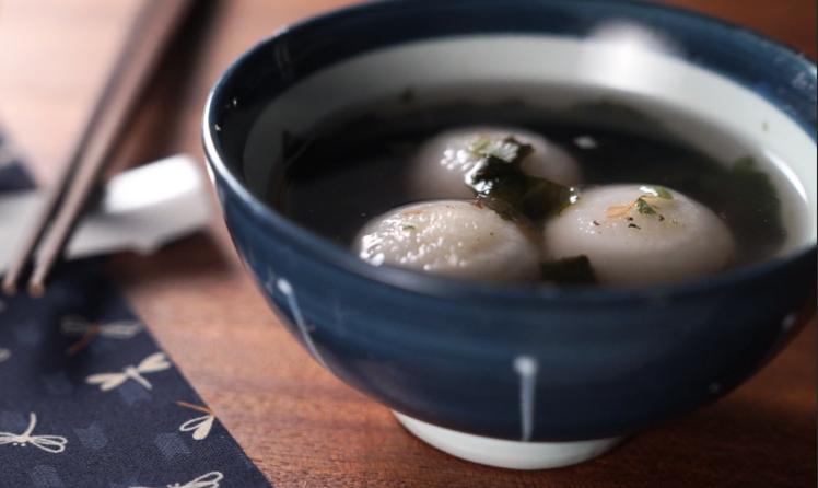 紫菜鮮肉湯圓【懶人微波】