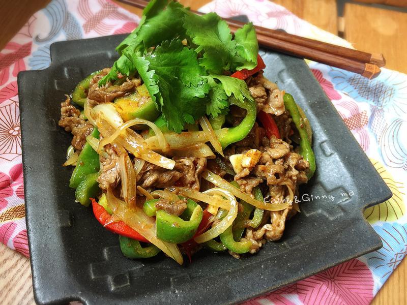 沙茶青椒牛肉(便當菜)