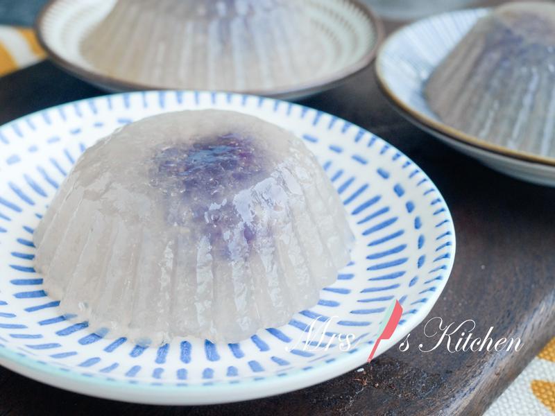 【影片】紫地瓜西谷米糕