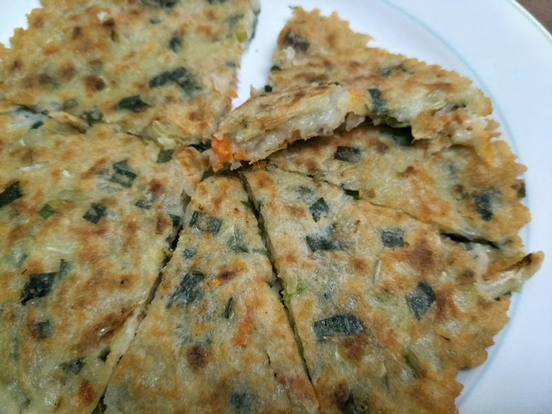 鮪魚蔬菜煎餅
