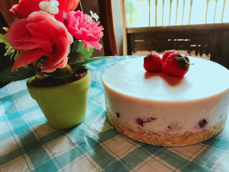 莓好的一天-草莓生乳酪
