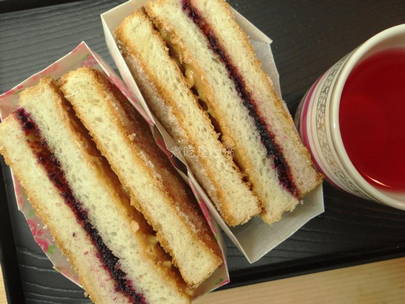 雙色糖片三明治
