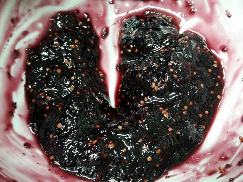桑葚果醬diy快速作法 微波爐 少量製作