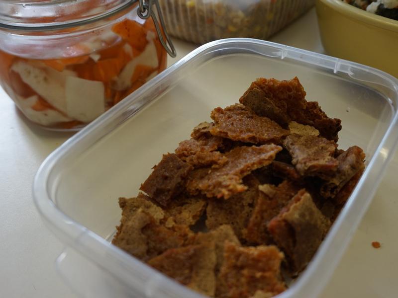 [湯渣再造] 胡蘿蔔脆餅