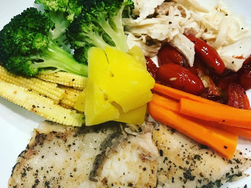 減肥鯛魚片餐  晚餐吃這個營養熱量低
