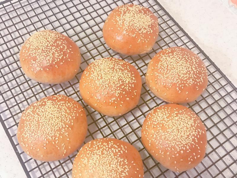 麥香漢堡麵包